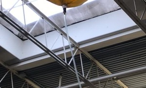 Mall Directs Leaking Roof to Water Plant