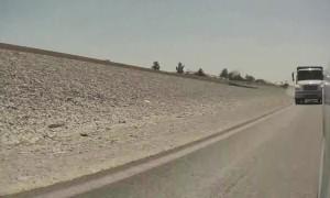 Tesla Autopilot Avoids Collision on Highway