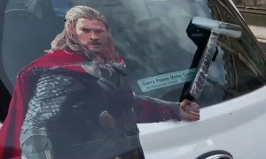 Interactive Thor Art for Cars