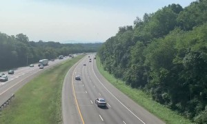 Plane Takes Off From Tennessee Highway After Emergency Landing