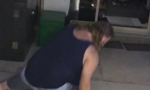 Man Ends Party With Spectacular Trick