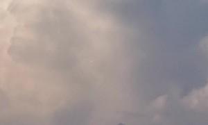 Strange Lighting Storm Captured Above Savannah