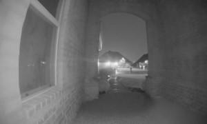 Doorbell Captures House Struck by Lightning
