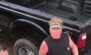 Truck Torque Tears Tow Hitch in Half