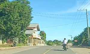 Wobbly Rider Can't Drive Straight on the Road