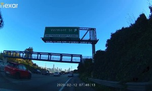 Dangerous Driving on San Francisco Freeway