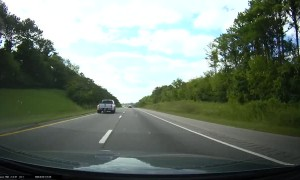 Trailer Takes Off Without Truck