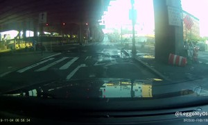 Roadside Scuffle Captured on Dashcam