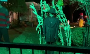 House Goes All Out for Halloween
