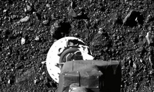 NASA footage shows spacecraft's incredible tough-and-go on asteroid
