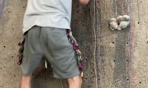 Making Music on a Rock Climbing Wall
