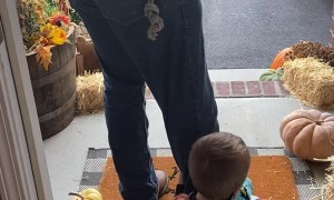 Son Doesn't Want Dad to go to Work