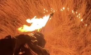 Native American Wildland Firefighter
