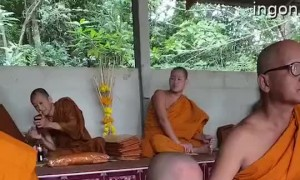 Monk Child Can't Stay Awake