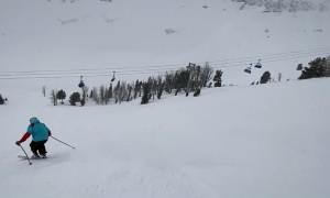Big Sky's Skilled Tele/Slalom Skier Gets Creative
