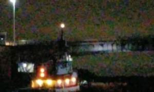 Barge Sails Right into Bridge