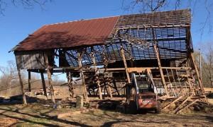 Massive Barn Demolition