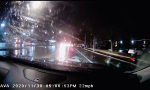 Flashing Light Confusion Leads to Intersection Collision