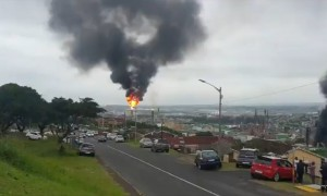 Massive explosion at oil refiner in South Africa