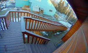 Sliding Down a Slippery Ramp at Speed