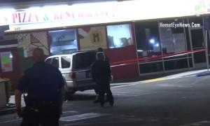 Man Shot at Pizza Restaurant