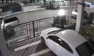 Strange Aberration Seen on Security Camera