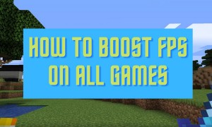 How To BOOST FPS In ALL GAMES 2021 | Make Your PC Run Faster
