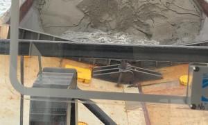 Dredge Dumping Spoils Back Into Sea