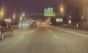 TeslaCam Captures Random Freeway Shooting