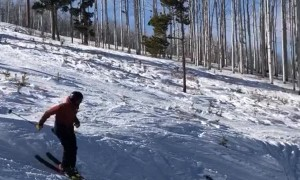 How Not to Backflip on Skis