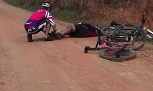 Cramps Cripple Man on Marathon Ride