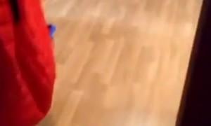 Playful Cat's Crazy Jump