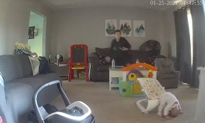Bouncy Chair Tips Child Out