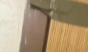 Duct Tape Door Lock