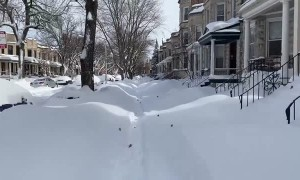This is a lot of snow, even for Chicago!