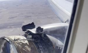 Engine Falls Apart Before Airplane Passengers Eyes