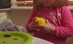 Little Girls Finds Out She Doesn't Like Lemon Juice