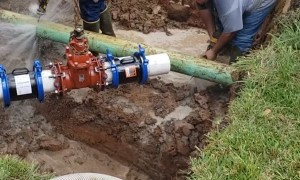 Cutting into Sewer Main Leads to Unintended Shower