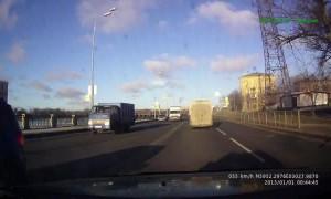 Speeding Car Choose Head-on Collision over Pedestrians