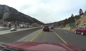 Car Headed the Wrong Way on Highway