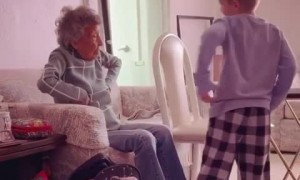 102-year-old woman joins great grandchild's 1st grade remote PE class