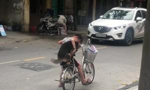 A Boy, A Dog and a Bike