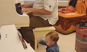 Practice Makes Perfect for Miniature Piano Star