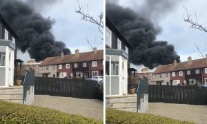 Devastating fire at Northfield Academy in UK