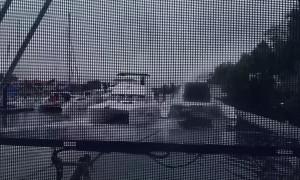 Boat Loses Control in Marina