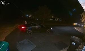 Security Camera Captures Meteor Flashing Through the Night Sky