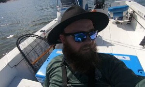 Fisherman Hooks Huge Crocodile