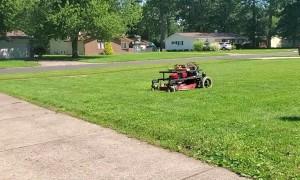 Autonomous GPS Lawnmower