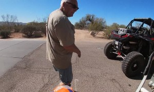 Dirt Bike Rider and Angry Motorist Come to Blows