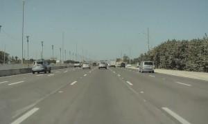 Oblivious Driver Turns into Tesla